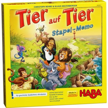 Joc de memorie Piramida animalelor Haba