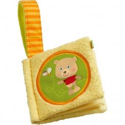 Carte textilă pentru bebelusi - Ursulet