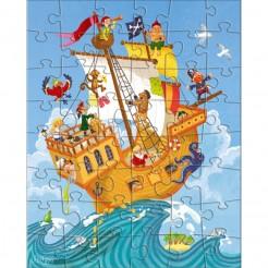 Puzzle cu pirați