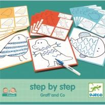 Invatam sa desenam pas cu pas - Graff and Co