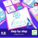 Invatam sa desenam pas cu pas - pentru fete