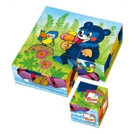 Cuburi puzzle cu ursulet
