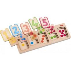 Puzzle cu numere