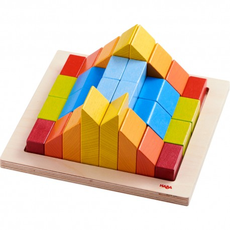 Joc de constructie cuburi creative