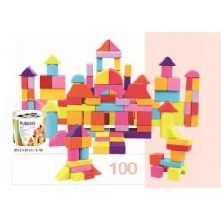 Cuburi de lemn pentru copii