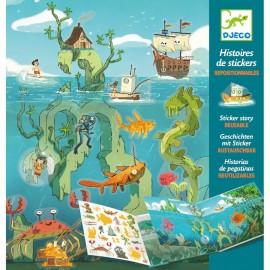 Abtibilduri repozitionabile - Aventuri pe mare