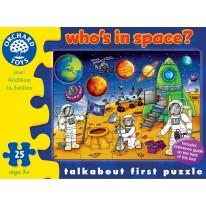 Puzzle 25 piese cu Spatiul cosmic