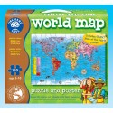 Puzzle copii Harta lumii