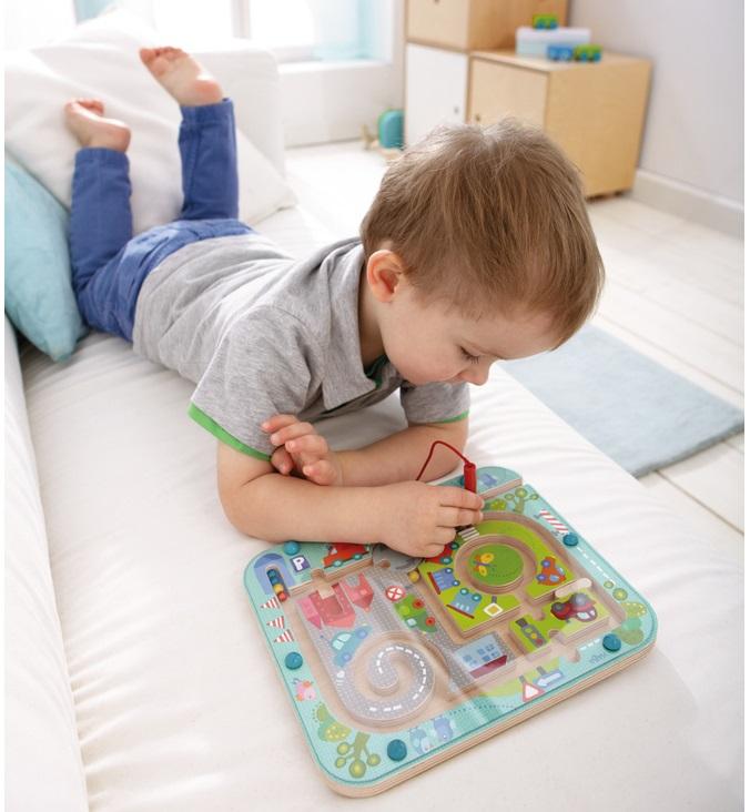 joc labirint HABA copacul Montessori