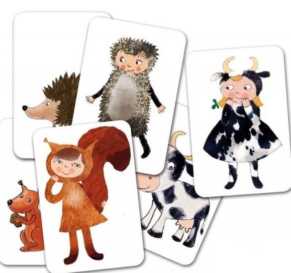 joc educativ cu animale pentru gradinita