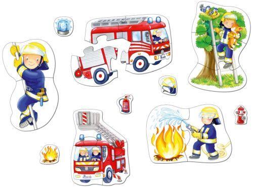 Puzzle pompieri 2 ani Haba