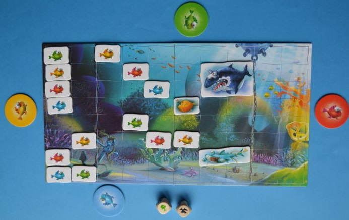 joc copii ascunzatoarea din recif
