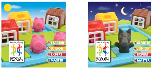 Provocari Three Little Piggies SmartGames