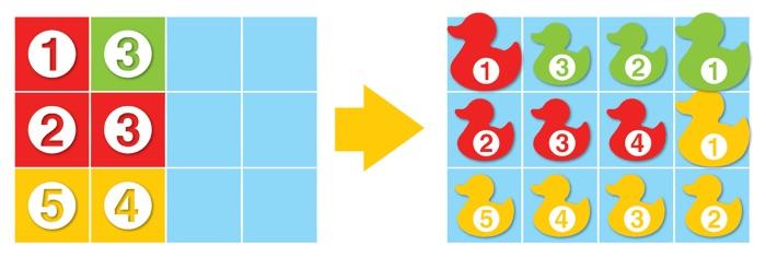 Joc de logica si deductie Deducktion - provocare simpla