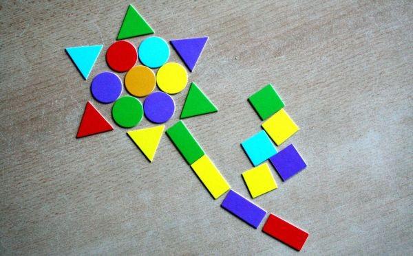 Joc cu forme geometrice Granna