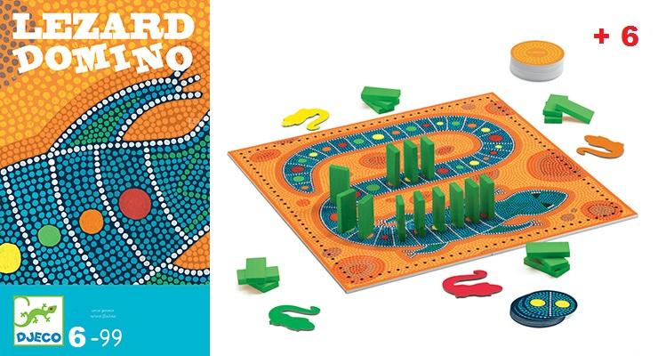 joc domino cu piese care cad