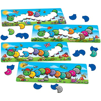 Omida Counting Caterpillars Orchard Toys