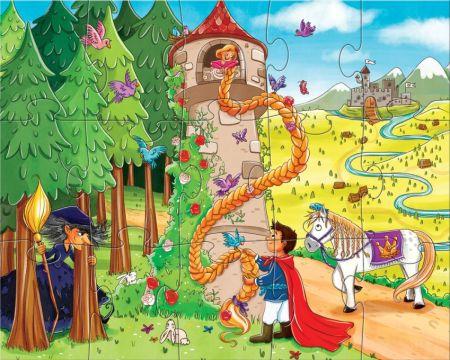 Puzzle Rapunzel Haba