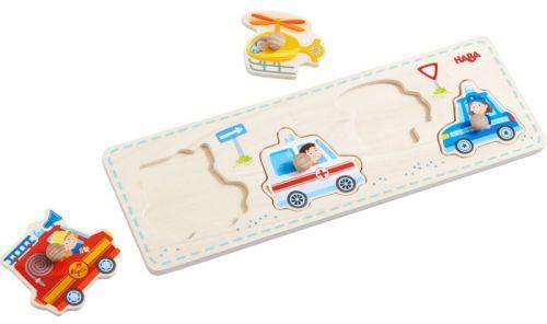 Puzzle masini cu buton Haba