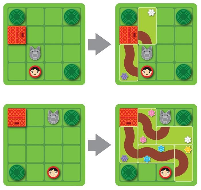 Joc de logica copii Scufita Rosie Smart Games